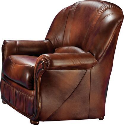 ESF Monica I17660 Living Room Chair Brown, MONICA1