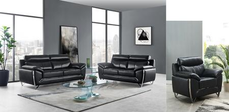U8360-SLC 3 Piece Living Room Set with Sofa  Loveseat  Accent Chair in