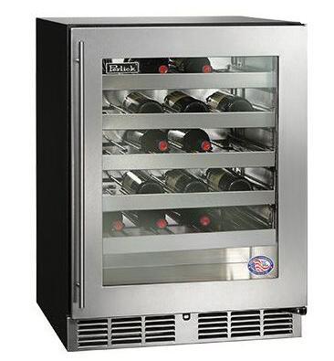 Perlick  HA24WB3L Wine Cooler 26-50 Bottles Stainless Steel, image