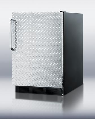 Summit FF6BI7 FF6BBI7DPL Freezerless Refrigerator Silver, 1