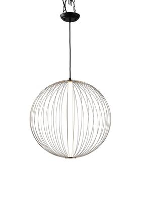 3111588SN Spokes Pendant Round Small in Satin