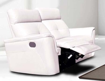 ESF  85012SNOWWHITE Loveseat White, 85012SNOWWHITE