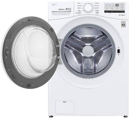LG WM3500CW Washer White, Main View