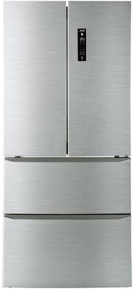 Avanti FFFD150H3S French Door Refrigerator Stainless Steel, FFFD150H3S Main Image