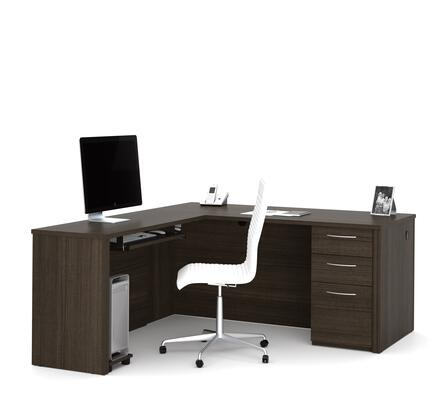 Bestar Furniture Embassy 6085279 Office Desk Brown, Main Image