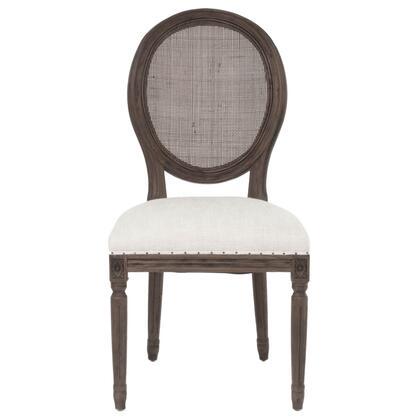 Benzara  BM185185 Dining Room Chair Beige, BM185185