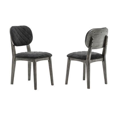 Armen Living Katelyn LCKASITGMN Dining Room Chair Gray, LCKASITGMN