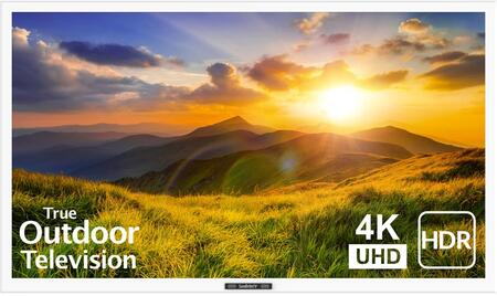 SB-S2-43-4K-WH 43″ Signature 2 Series 4K UHD Outdoor TV with HDR  OptiView Technology and TruVision Anti-Glare Technology in