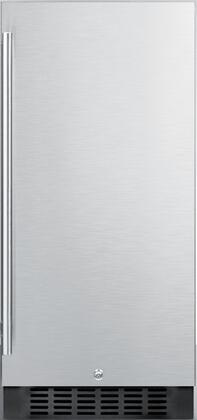 Summit  SPR316OS Compact Refrigerator Stainless Steel, Main Image