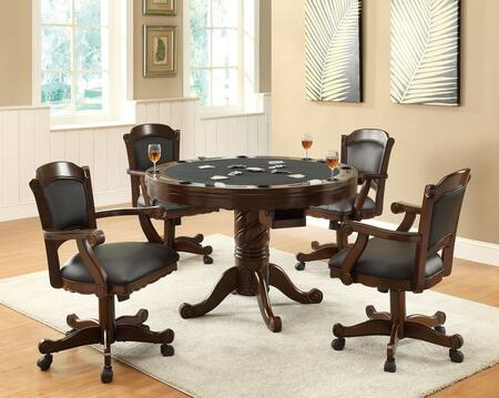 Coaster Turk 100871SET Dining Room Set, 5 PC Set