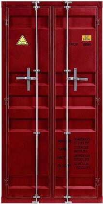 Acme Furniture Cargo 37919 Wardrobe Red, Main Image