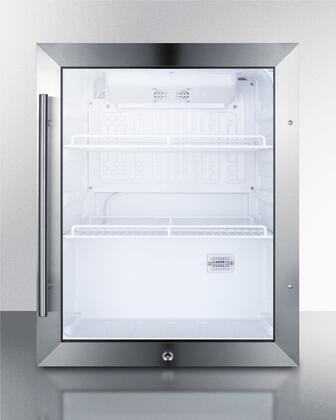 Summit  SPR314LOS Beverage Center Stainless Steel, SPR314LOS Beverage Center