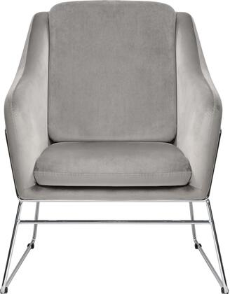 Diamond Sofa Bryce BRYCECHGR Accent Chair Gray, BRYCECHGR Main Image