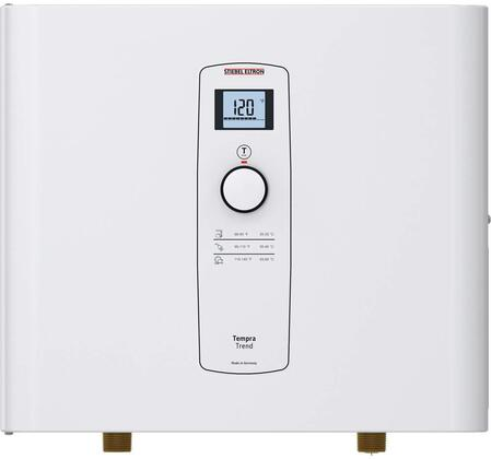 239213 Tempra 12 Trend Whole House Electric Tankless Water Heater with 12000 Watts  Digital Display and 204/208 Volts in