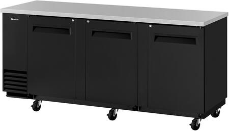 TBB-4SB-N 91″ Super Deluxe Series Back Bar with 36.47 cu. ft. Capacity  Hydrocarbon Refrigerants  Forced Air Cooling System and LED Interior Lighting