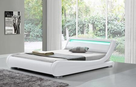 Ladeso Edgewater SF808QW Bed White, Main Image