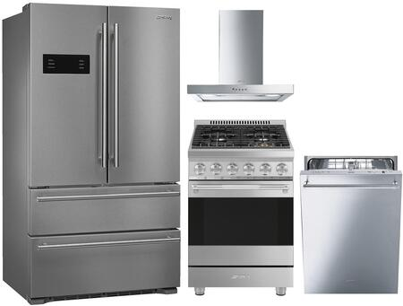 Smeg 1054364 Kitchen Appliance Package & Bundle Stainless Steel, main image
