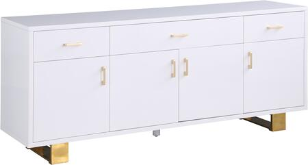 Meridian Excel 355 Dining Room Buffet White, 355 1