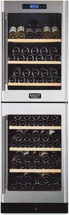 Kucht Professional K430AV22 Wine Cooler 76 Bottles and Above Stainless Steel, Main Image