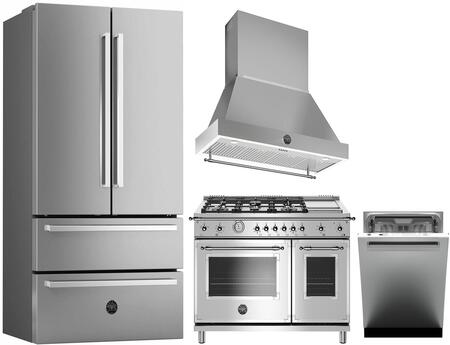 Bertazzoni 1128183 Kitchen Appliance Package & Bundle Stainless Steel, main image