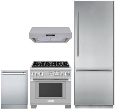 Thermador 872215 Kitchen Appliance Package & Bundle Stainless Steel, Main image