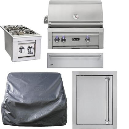 Viking Outdoor 887434 Outdoor Kitchen Equipment Packages Stainless Steel, Main Image