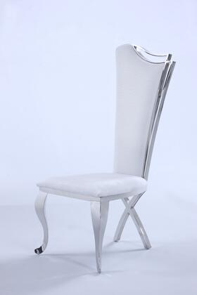 Chintaly  NADIASCWHT Dining Room Chair , Main Image