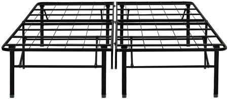 Dream Support  DS18BLACKEK Stationary Bed Frames Black, Main Image