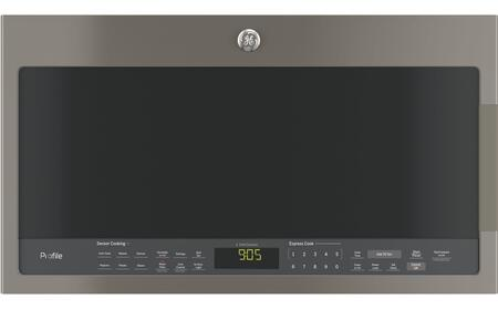 GE Profile PVM9005EJES Over The Range Microwave Slate, Main View