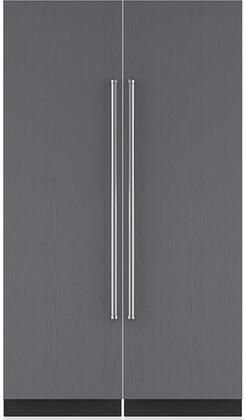 Sub-Zero Designer 710363 Column Refrigerator & Freezer Set Panel Ready, Main Image