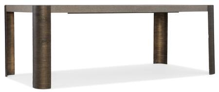 Hooker Furniture Miramar - Carmel 620075200GRY Dining Room Table, Silo Image