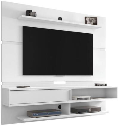 Manhattan Comfort Astor 223BMC6 Entertainment Center White, 223BMC6 side