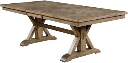 Furniture of America Julia CM3014TTABLE Dining Room Table Brown, CM3014TTABLE Main Image