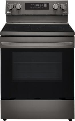 LG  LREL6323D Freestanding Electric Range Black Stainless Steel, LREL6323D Front