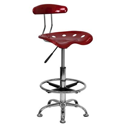 Flash Furniture  LF215WINEREDGG Office Chair Red, 1