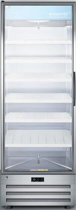 """ACR1718LH 28"""" Pharmacy Refrigerator with 17 cu. ft. Capacity LED Lighting Automatic Defrost Factory Installed Lock and Adjustable Cantilevered"""
