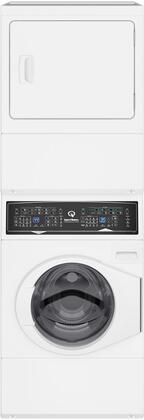 SF7003WG 27″ Gas Stacked Washer and Dryer with Stainless Steel Tub  Balance Technology  Control Lock  Moisture Sensor  in