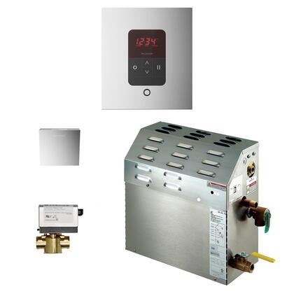 Mr. Steam iTempo Generator Package 225C1ATSQPC Shower Accessory, 225C1ATSQPC