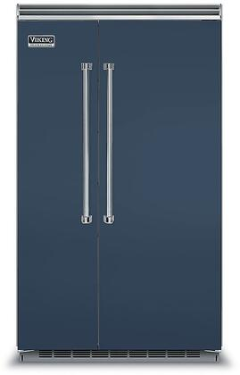 Viking 5 Series VCSB5483SB Side-By-Side Refrigerator Blue, VCSB5483SB Side-by-Side Refrigerator