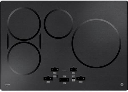 GE Profile  PHP9030BMTS Induction Cooktop Black Stainless Steel, Main Image
