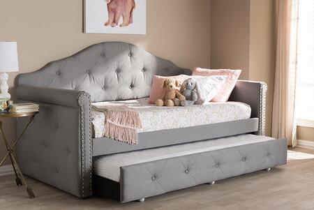 Baxton Studio 161.38 lbs. WA5011GRAYDAYBED Bed Gray, 8057 8