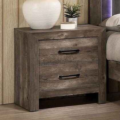 Furniture of America Larissa CM7149N Nightstand Natural, cm7149n 1