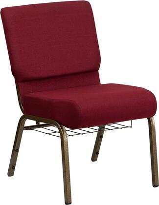 Flash Furniture Hercules FDCH02214GV3169BASGG Accent Chair Red, FDCH02214GV3169BASGG side