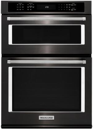 KitchenAid  KOCE507EBS Electric Oven/Microwave Combo Black Stainless Steel, Main Image