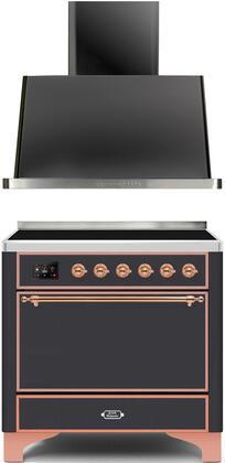 Ilve Majestic II 1271654 Kitchen Appliance Package Graphite, Main image