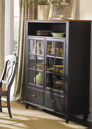Liberty Furniture Low Country 80CH4460 Curio Cabinet Multi Colored, Main Image