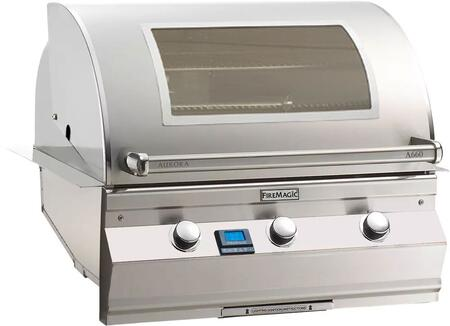 Fire Magic Aurora A660I5L1NW Natural Gas Grill Stainless Steel, Main Image Magic Window with Digital Thermometer