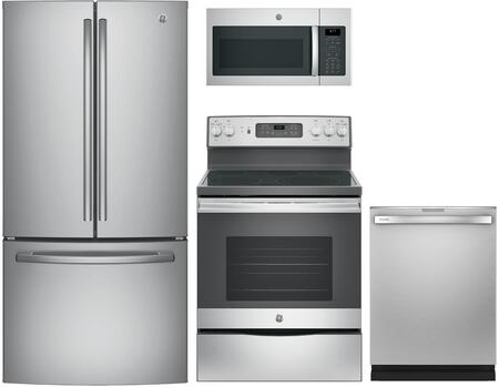 GE 844816 Kitchen Appliance Package & Bundle Stainless Steel, main image