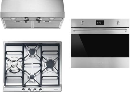 Smeg 890397 Kitchen Appliance Package & Bundle Stainless Steel, main image
