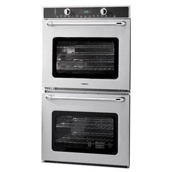 Capital Maestro MWOV302ES Double Wall Oven Stainless Steel, Front View